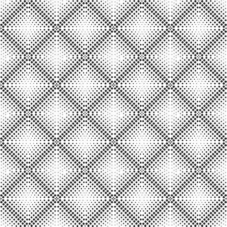 Seamless vector template. Modern geometrical minimalist texture. An abstract ornament from circles of the different size. Dotted line. To pass. Design of the card, cover, flyer, packing.