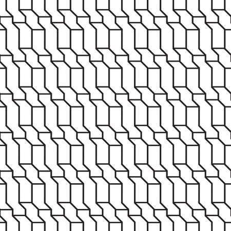 Seamless geometrical vector template. The abstract drawing about rhombuses, lines, a rectangle. Graphic design of a lattice. For a cover of cards, wall-paper, fabrics. Vector illustration