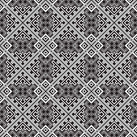 Seamless vector pattern. Abstract geometric background with infinitely repeating tiles. Graphic design element with rombs, chevron.