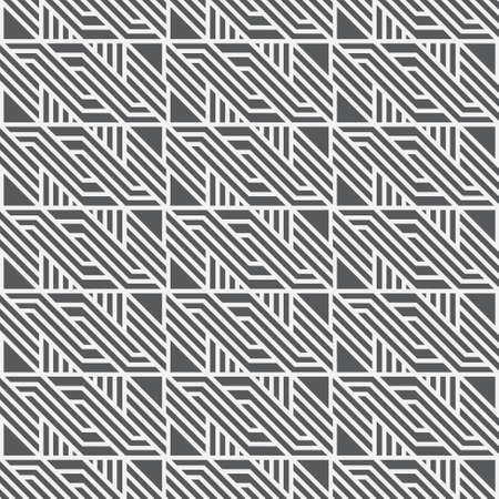 Seamless vector patterns. Abstract textured background with regular repetition of angular shapes, rombs, line. Lattice design widget.