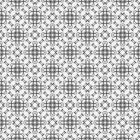 Seamless geometric pattern. Stylish abstract  background. Modern vector linear texture with thin lines. Regularly repeating geometrical tiled grid with rhombuses, diamonds, zigzags