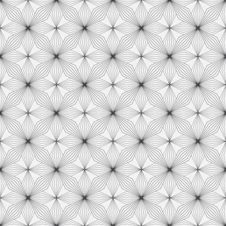 Seamless geometric models in the art deco style. Vintage geometric minimalist background. Abstract vector element of graphic design. 向量圖像