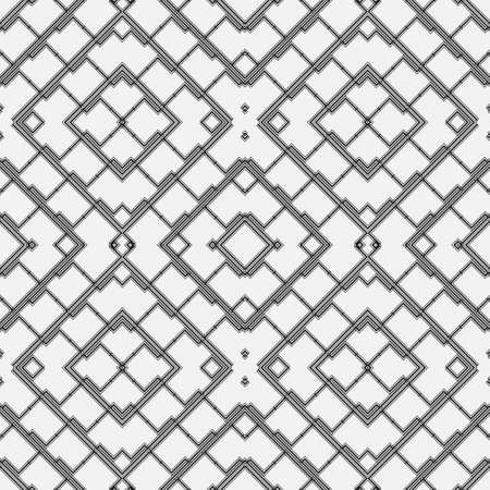 Seamless geometric abstract wallpaper. Modern texture with stripes, lines.Simple lattice graphic design.