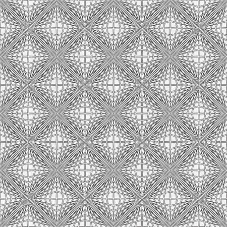 Seamless geometry models in art deco style. Original stylish pattern. Abstract vector background. Graphic design lattice. 일러스트