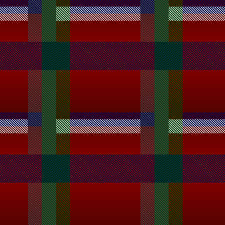 Classical checkered tartan pattern. Seamless abstract texture with intersecting stripes. Geometrical color wall-paper. Scottish cage. Print for flyers, shirts and textiles. Vector graphics.