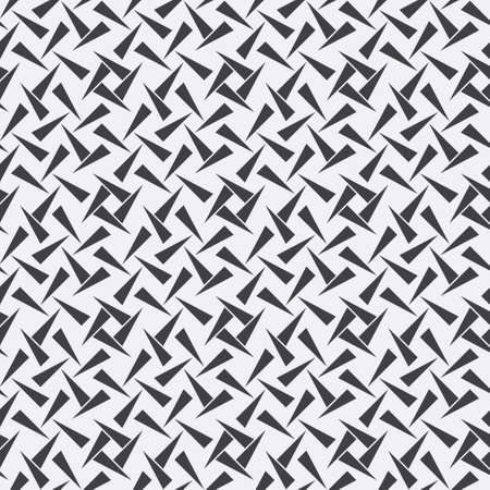 Seamless minimalist vector background. Abstract monochrome modern texture. The repeating geometrical tiles. Graphic element of design.