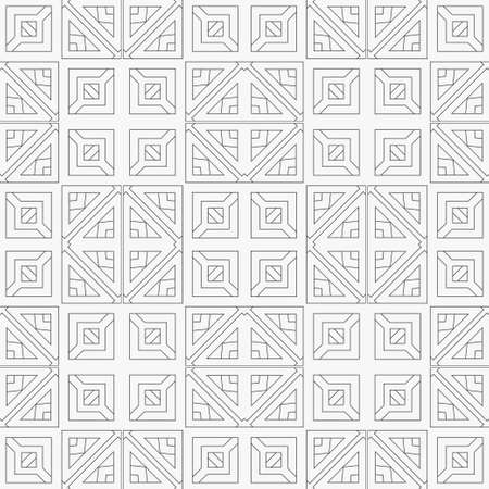 Seamless vector the template consisting of  rhombuses of the different sizes. An abstract background from the thin line for design of the card, a cover, a flyer. Иллюстрация