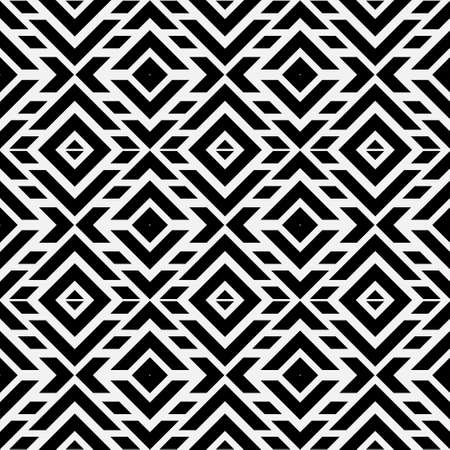 Seamless geometric vector pattern. Abstract background with repeating geometrical shapes. Graphic design of a lattice. For the cover, of cards, wallpaper, fabric.
