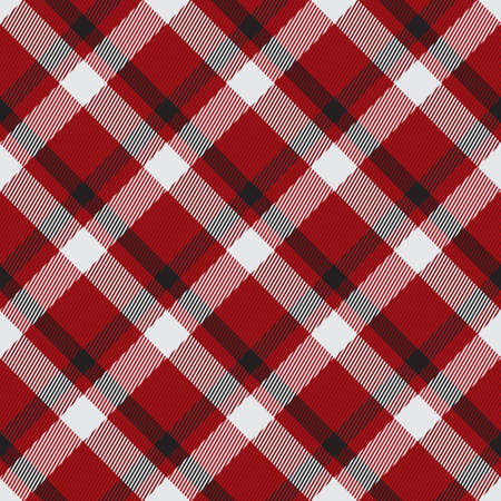 Classical checkered tartan pattern. Seamless abstract texture. Geometric color wallpaper. Scottish cage. Vector graphics printing on fabrics, shirts and textiles.