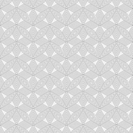 Seamless vector the template consisting of  rhombuses of the different sizes. An abstract background from the thin line for design of the card, a cover, a flyer. 向量圖像