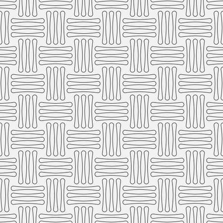 Abstract seamless models. Modern striped black white texture. Simple background with repeating strokes. Vector graphics.