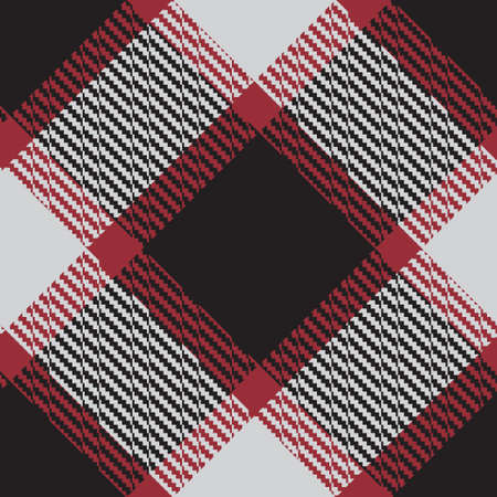 Classical checkered tartan pattern. Seamless abstract texture. Striped color wall-paper. Scottish cage. Vector graphics printing on fabrics, shirts and textiles.