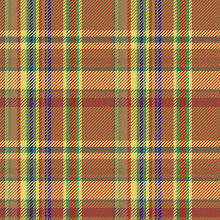 Checkered classical pattern tartan. Abstract seamless background. Scottish cage. Traditional color wallpaper in stripe. Vector graphics printing on fabrics, shirts and textiles.