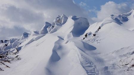 winter photos: snow mountains
