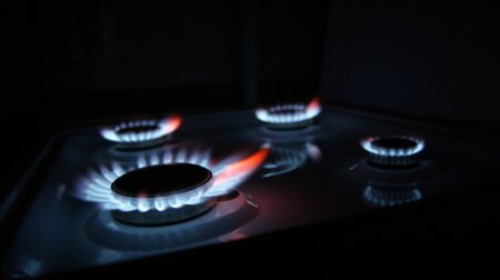Gas cooker Stock Photo - 10623749