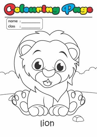 Página Para Colorear / Libro De Colorear. Grado Fácil Adecuado Para ...