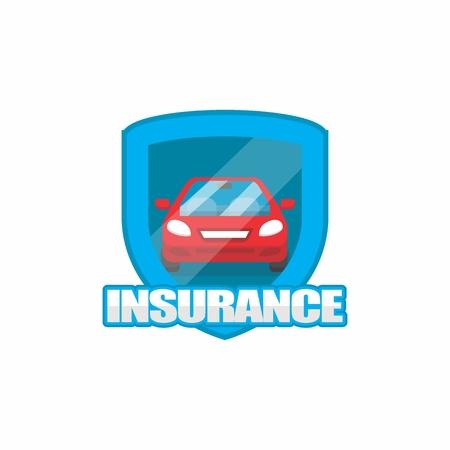 Insured Logo, Icon, Badge, Shield for Insurance