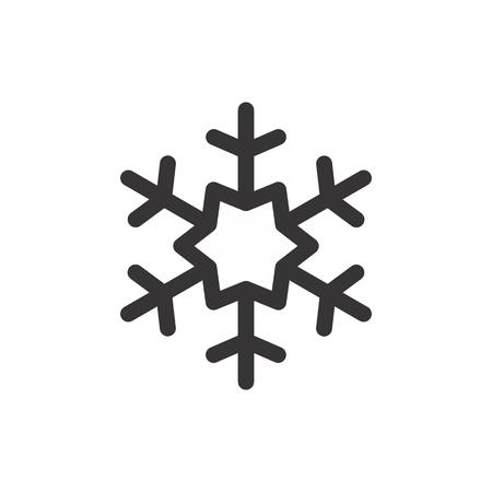 Christmas Vector Icon snow