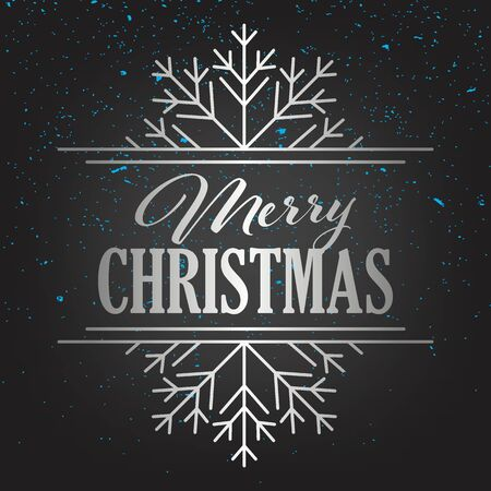 Merry Christmas Gold Lettering Greeting Card Set Иллюстрация