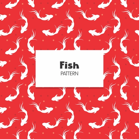Koi Fish Repeat Pattern decoration collection