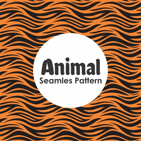 Animal Seamless Pattern Background Vector Banque d'images - 103107084