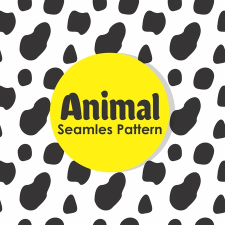 Animal Seamless Pattern Background Vector Banque d'images - 103083692