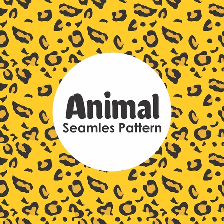 Animal Seamless Pattern Background Vector Banque d'images - 103107090