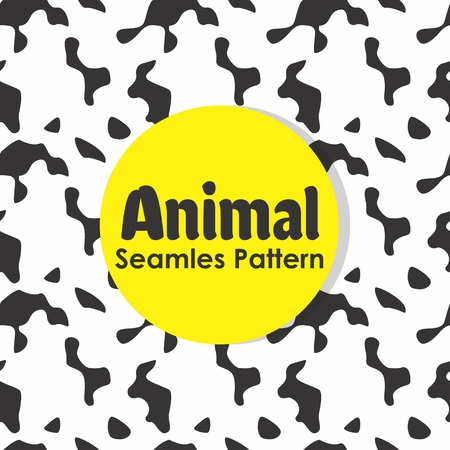 Animal Seamless Pattern Background Vector Banque d'images - 103107089