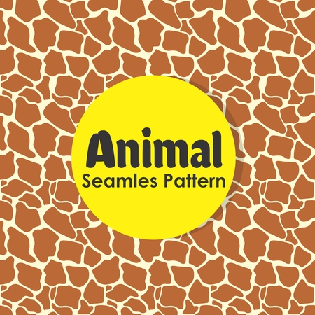 Animal Seamless Pattern Background Vector Banque d'images - 103083698