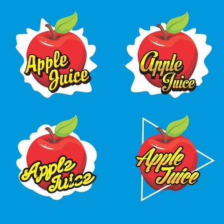 Fruit Juice Logo Иллюстрация
