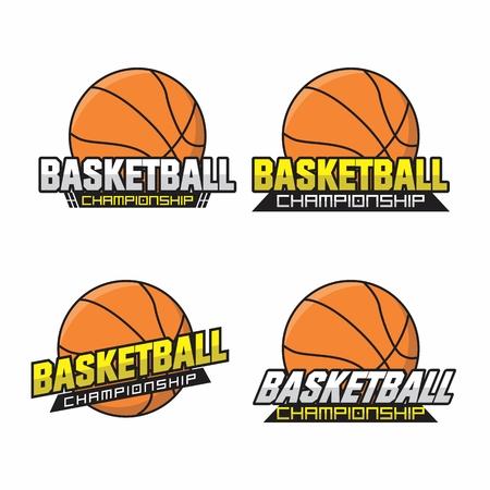 Basketball championship Logo Collection