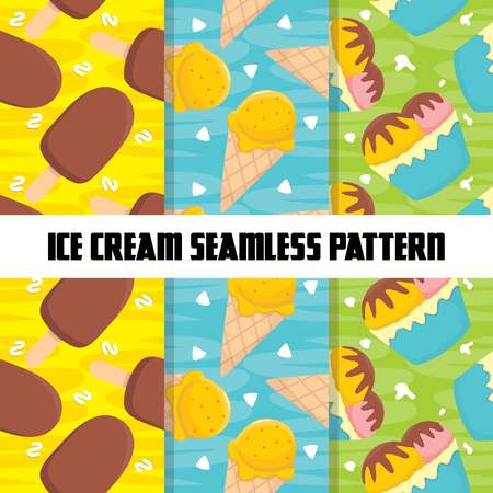 Food Colorful Seamless Pattern template design