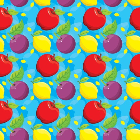 Fruit Colorful Seamless Pattern