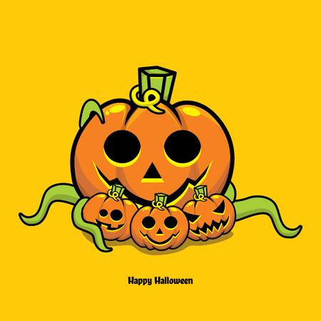 Jack'o Lantern Halloween pumpkin Фото со стока - 110466502