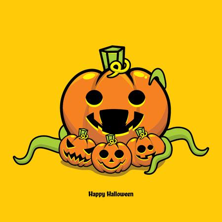 Jack'o Lantern Halloween pumpkin