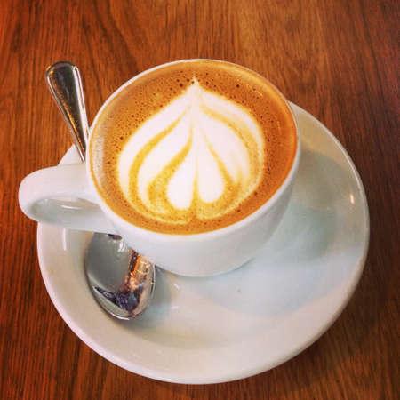 Frothy espresso