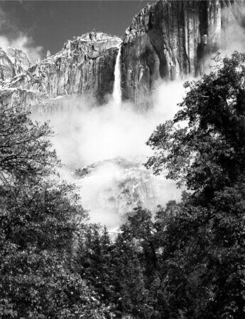Upper Yosemite Falls, Yosemite Valley, California Stok Fotoğraf