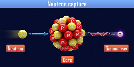 Neutron capture photo
