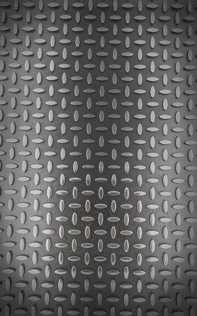 diamondplate: Background of metal diamond plate (3d render)