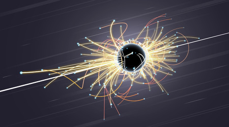 PROTON: Particle Collision and Blackhole in LHC (Large Hadron Collider)