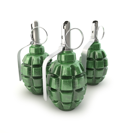 munition: Grenades F-1 on a white background