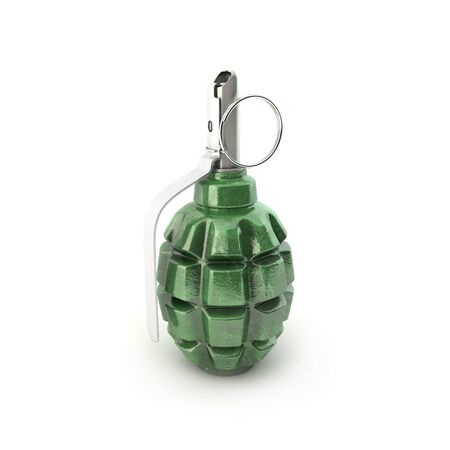 munition: Grenade F-1 on a white background