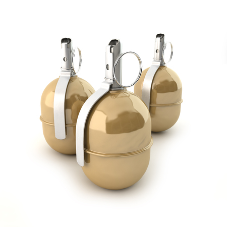 munition: Grenades RGD-5 on a white background