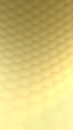 Hexagonal abstract background (3d render) Standard-Bild - 98618564
