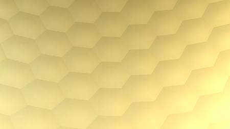 Hexagonal abstract background (3d render) Stockfoto