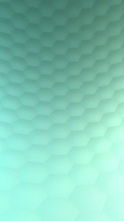 Hexagonal abstract background (3d render) Standard-Bild - 98641774