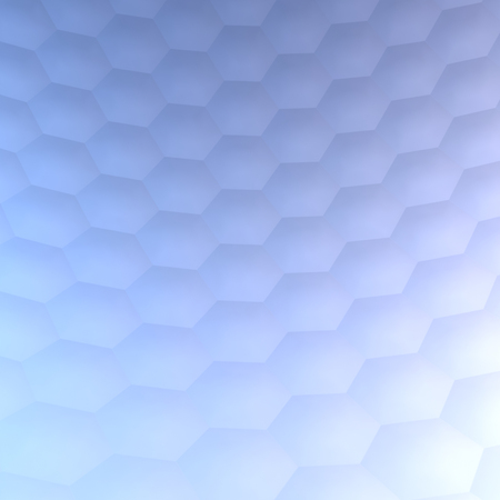 Hexagonal abstract  background (3d render)
