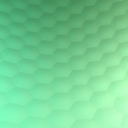 Hexagonal abstract background (3d render) Standard-Bild - 98688721