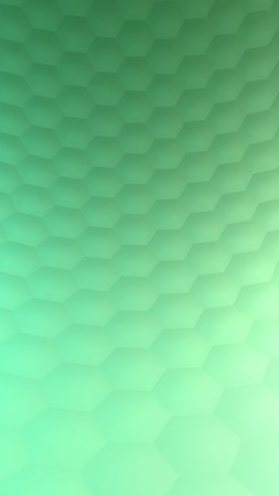 Hexagonal abstract background (3d render) Standard-Bild - 98641777