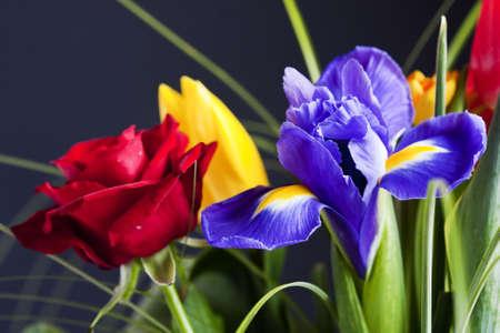 colorful flower bouquet photo